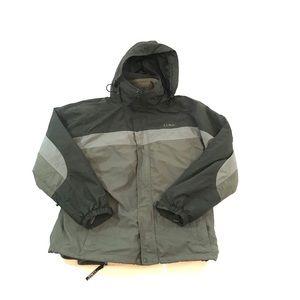 LL Bean Winter Jacket 3 in 1 Jacket Hooded Green